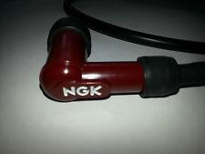 Motorbike Scooter 7mm HT Spark Plug Lead & Waterproof NGK Suppressed Red Cap