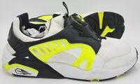 Puma Disc Blaze Electric Trainers 361409 02 White/Black/Neon Yellow UK9/US10/E43