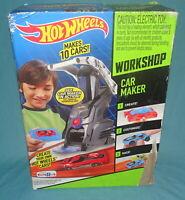 NEW = Hot Wheels = Workshop Car Maker Design Kit Machine = Sealed = 2013