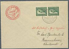 Zeppelinbrief Sudetenlandfahrt 1. 12. 38 mit DR 670 (540024)