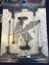 Go Kart - Allen Key T-Bar Set Inc 2.5, 3, 4, 5, 6, 8mm Black Plastic Handle