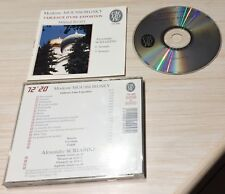 CD ALBUM CLASSIQUE MODESTE MOUSSORGSKY TABLEAUX D'UNE EXPOSITION MIKHAIL RUDY