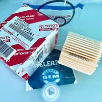 (1)  04152-YZZA1 Genuine Toyota Oil Filters for Camry Avalon