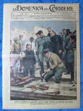 La Domenica del Corriere 4 novembre 1934 Mussolini - Alpini - Giosue Borsi