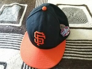 San Francisco Giants MLB cap hat world series 2012 New era  sz7 new withaut tag
