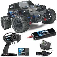 Traxxas 76054-5 LaTrax Teton 1/18 Monster Truck 4WD RTR Blue w/ 2.4GHz Radio