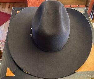 SERRATELLI COWBOY HAT 7 3/8 Black