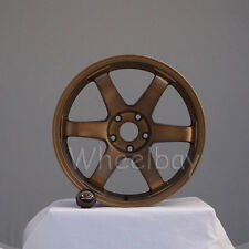 4 ROTA WHEEL GRID  18X9.5  5X114.3 38 FRSB LAST SET