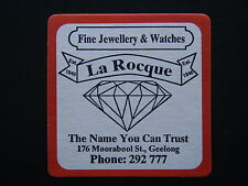 LA ROCQUE FINE JEWELLERY & WATCHES 176 MOORABOOL ST GEELONG 292777 COASTER