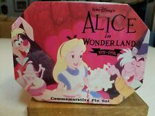 Alice in wonderland Commemorative Pin Set
