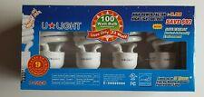 U-Light 23-Watt Daylight Compact Flourescent Light Bulbs 4-Pack 100w Equivalent