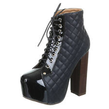 Damenstiefel & -Stiefeletten mit Schnürsenkel für Sehr hoher Absatz (Größer als 8 cm) und Clubwear