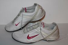 Nike Air Cardio III Running Shoes, #408069-102, Wht/Pink, Leather, Women's US 8