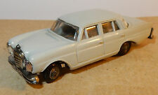 OLD MICRO NOREV HO 1/87 MERCEDES 220 SE GRISE ANNEES 1960