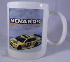 NASCAR Paul Menard Coffee Mug Menards Race Car #27 Cup Richard Childress Racing