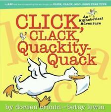 Click, Clack, Quackity-Quack~A Alphabetical Adventure (BN Pperback)Doreen Cronin