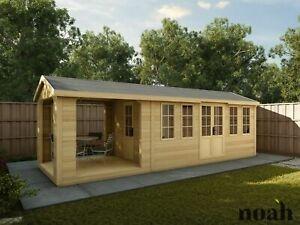 16x8 'Don Marino Georgian Combination' Garden Room, Summerhouse, Home Office