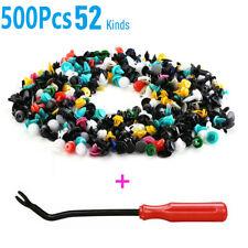 500Pcs Universal Car Body Plastic Push Pin Rivet Trim Panel Fastener Clip Mould