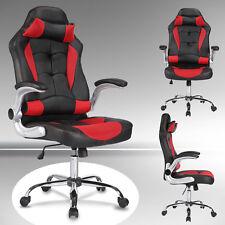 idéal Chaise fauteuil de bureau luxe et confortable banquet réglable PU rouge