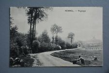 R&L Postcard: Belgium Kemmel Paysage, Farming Crop Picking
