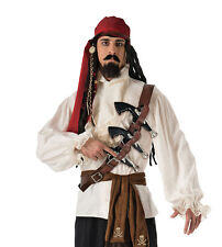 Set giocattolo di plastica Pirate Costume SCIABOLA SPADA PISTOLA BENDA SULL/'OCCHIO Set 3PC