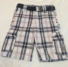 NWT Shawn White , White And Blue Shorts Boys Size 4 Stripes
