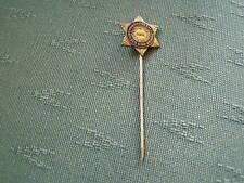 OLD CHRISTIAN HERALD GOLDEN STAR BRIGADE ENAMEL STICK PIN BADGE