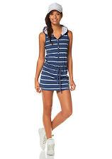 KangaROOS Streifen-Shirt-Kleid mit Kapuze. blue. NEU!!! SALE%25%25%25