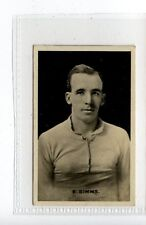 (Jc9423-100)  THOMSON,FOOTBALLERS-SIGNED RP'S,E.SIMMS,1923,#