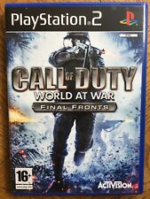 Call of Duty World at War Final Fronts (unsealed) - PS2 UK New!
