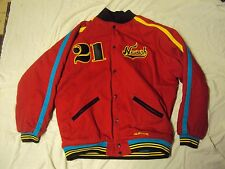 NLB Newark Eagles Jacket Stall & Dean Sz 3XL Pre-Owned + Custom Cap  7 7/8 NWT!
