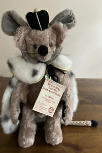 RARE Hermann Gumps Mouse King From The Nutcrackers Suite Hard Stuffed 391/500