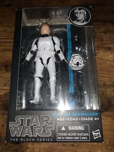 Star Wars The Black Series Luke Skywalker Stormtrooper Complete W/ Blue Box