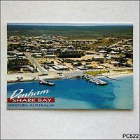 Denham Shark Bay Western Australia Aerial View Postcard (P522)