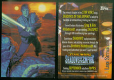 """1996 """"STAR WARS - SHADOWS of the EMPIRE"""" TOPPS PROMO TRADING CARD - V/GOOD COND"""