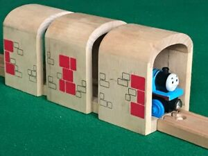 DRIVE THROUGH TUNNEL for THOMAS & FRIENDS WOODEN RAILWAY train TOY sets