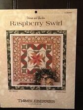 Quilting instructions Thimbleberries Lynette Jensen Raspberry Swirl new