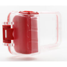Pixco 30m Bluetooth Remote Waterproof Diving Case For Samsung Galaxy S8 S7 6 Red