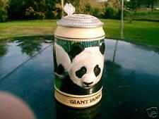 Budweiser Endangered Species Giant Panda Stein 1992