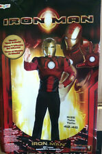 IRON MAN ADULT COSTUME SHIRT AND MASK SIZE LARGE (42-46) AVENGERS