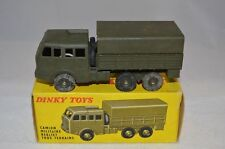 Dinky Toys 818 Berliet tous terrains excellent in box.