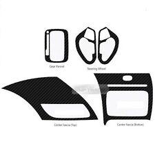 Carbon Gear Steering Wheel Center Fascia Decal Sticker for KIA 14-17 Cerato Koup