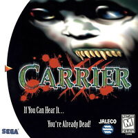🔥 Carrier Sega Dreamcast  Disk Only