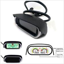 Universal Horizontal LCD Digital Display Autos Water Temperature Gauge Voltmeter