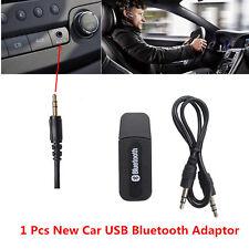 New 3.5mm Car USB Bluetooth Adapter Audio Dongle Music Wireless Receiver Adaptor