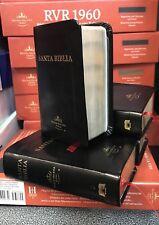 Mini Biblia De Bolliso  Reina Valera 1960 Piel Negro contiene lupa