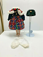 """Beautiful! Vintage Victorian Style Doll Dress outfit for 16"""" Doll"""