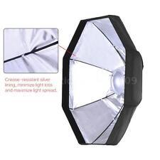 60CM Flash Strobe Beauty Dish Softbox Diffuser Light Reflector Bowens Mount D9L0