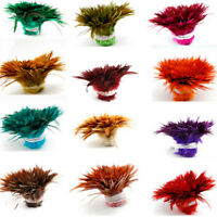High Quality 100/500/1000Pcs 4-6inch / 10-15cm Dyed Rooster Feathers DIY Craft