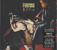 SCORPIONS/Tokyo Bandes - 50th Anniversary Deluxe Edition * NEW 2cd's 2015 * NOUVEAU